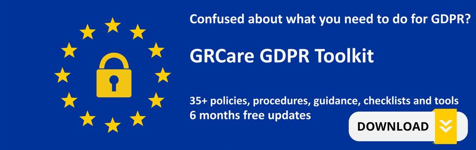 GDPR Toolkit coming soon