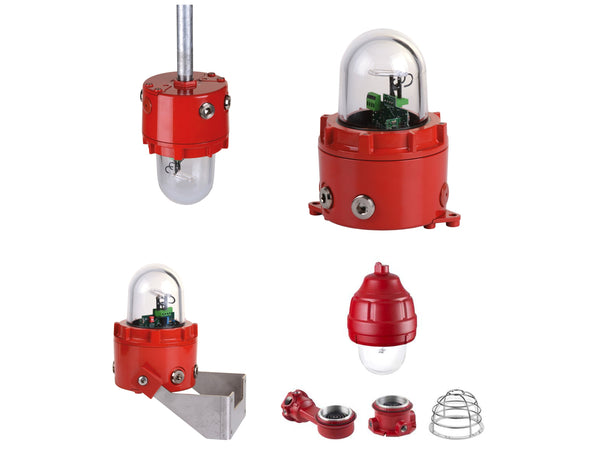 Class 1 Div 1 Explosion Proof - Public Mode Fire Alarm UL 1971 Synchronized Strobe Lights