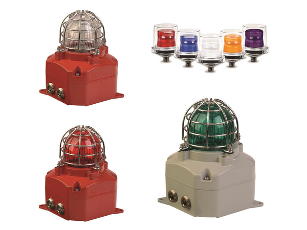 Class 1 Div 2 Hazardous Location Synchronized Strobe Lights UL1638 Private Mode