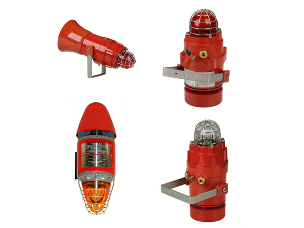 Class 1 Div 1 Explosion Proof Combination Audible Visual UL464/UL1638 Private Mode Visual