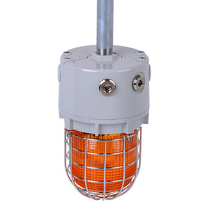 D1xB2 Series Strobe, Explosion Proof UL1638 - 24VDC - 5,10,15 & 21 Joule - Self Synchronizing Class 1 Div 1 & 2