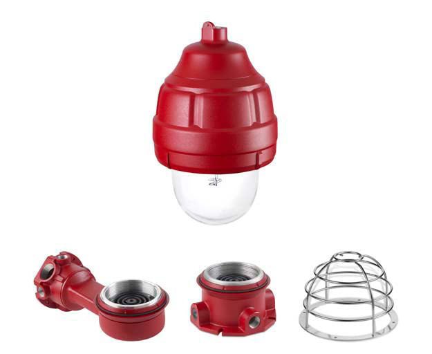 Model FSEX-HI-MOD Explosion Proof Synchronized  Fire Alarm strobe light  150cd UL1971 - 24VDC, 3A surge current