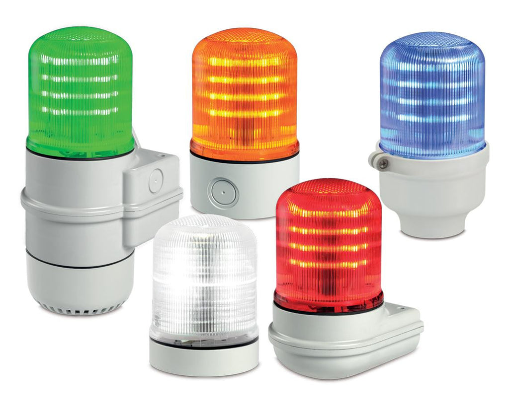 SLM100 StreamLine® Modular Multifunctional LED Beacon - Steady_Flashing or Rotating