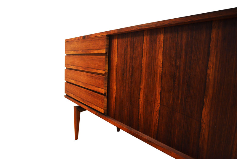 H.W. Klein Low Sideboard for Bramin Mobelfabrik, Denmark early 1960's