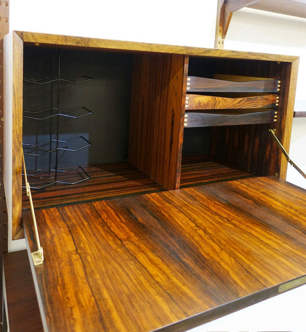Poul Cadovius System Cado Wall Unit in Rosewood, Denmark 1960´s