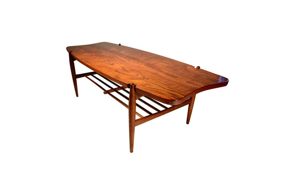 Danish modern coffee table, Denmark 1950's
