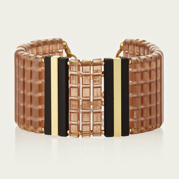 Gold Stripe Cuff - lbr1002h