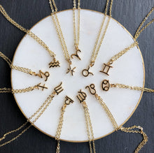 Load image into Gallery viewer, Zodiac necklaces by Jack & Freda