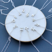 Load image into Gallery viewer, SILVER ZODIAC NECKLACE