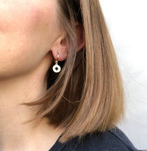 Load image into Gallery viewer, STAR HUGGIE EARRINGS