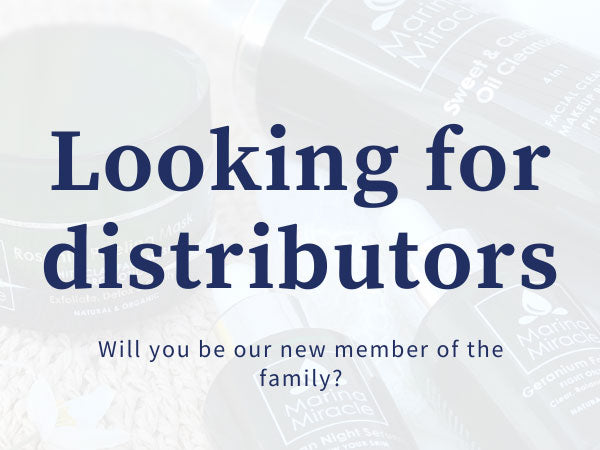 We are looking for new distributors