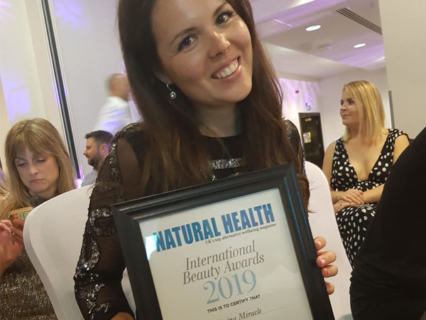 ACAI HYDRA CREAM WINS IN NATURAL HEALTH INTERNATIONAL BEAUTY AWARDS