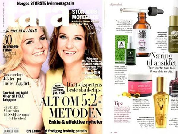Tara magazine is mentioning our products