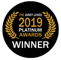 The Janey Loves 2019 Platinum Award Winner