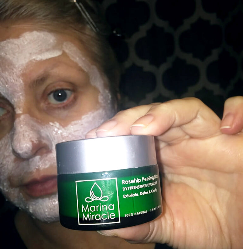 Go green makup miracle home facial