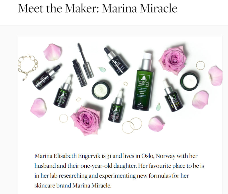 Green Parent article about Marina Miracle