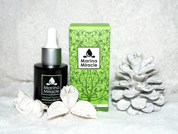 Liv hege tests marina miracle face oil