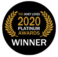 Janey Loves 2020 Platinum Awards - Best Face Mask