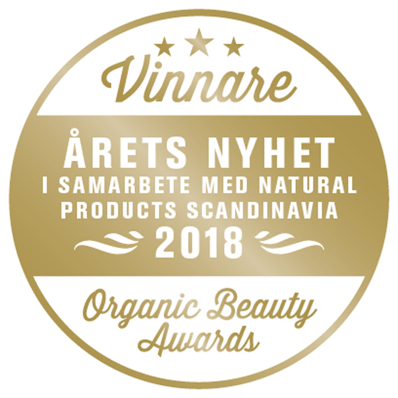 Amaranth Night Serum winner of This Years New Best Product 2018 - Organic Beauty Awards