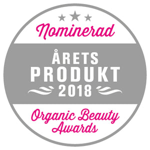 Årets Produkt 2018 Organic Beauty Awards