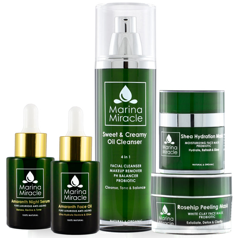 Marina Miracle skin care package for dry and mature skin