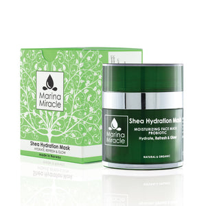 Shea Hydration Mask with lots of shea and live probiotics