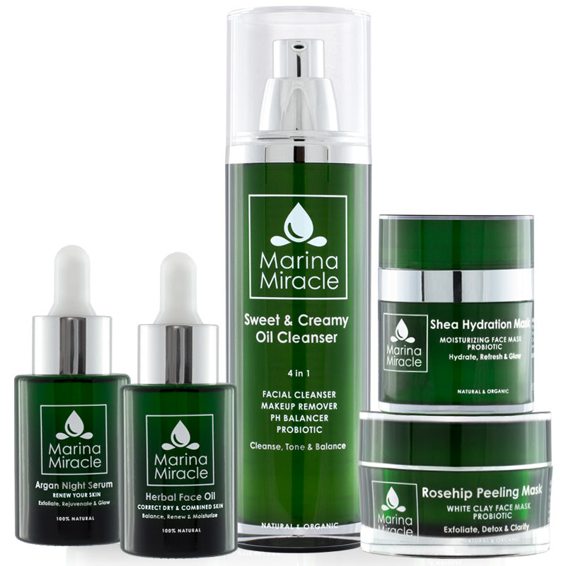 Complete package with Herbal Face Oil