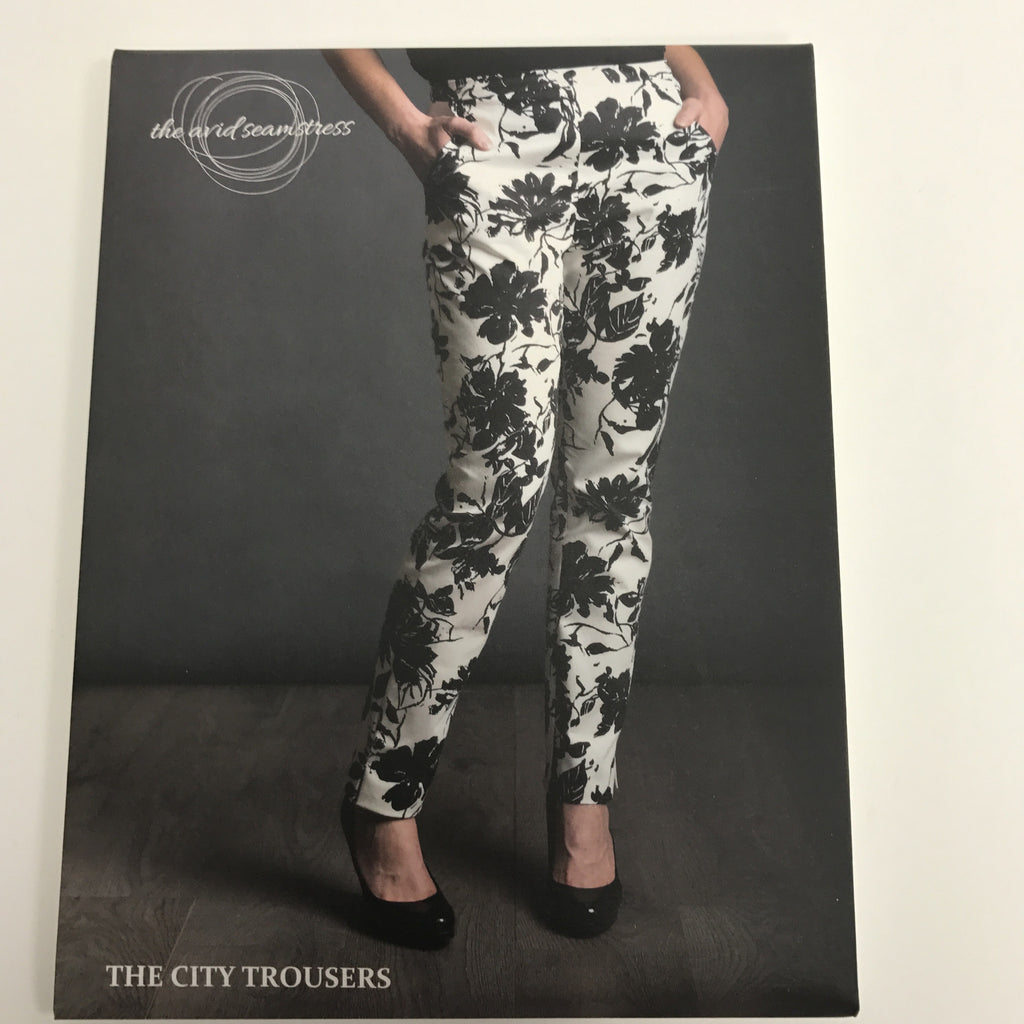 "The Avid Seamstress damesbroek "" The City Trousers """