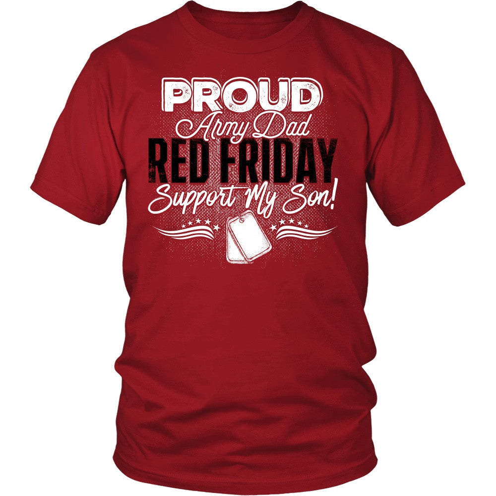 1ab0d452 Proud Army Dad - Red Friday - VIPatriot
