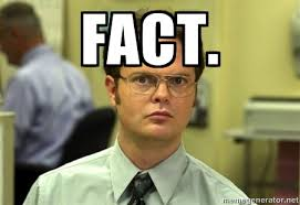 dwight shrute fact