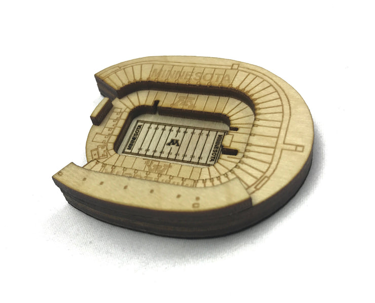 Stadium State Shape - Minnesota, Minneapolis (TCF Bank Stadium)