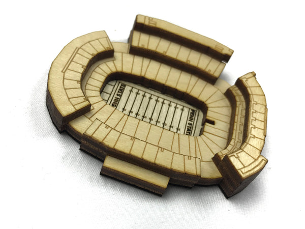 Stadium State Shape - Pennsylvania, State College (Beaver Stadium)