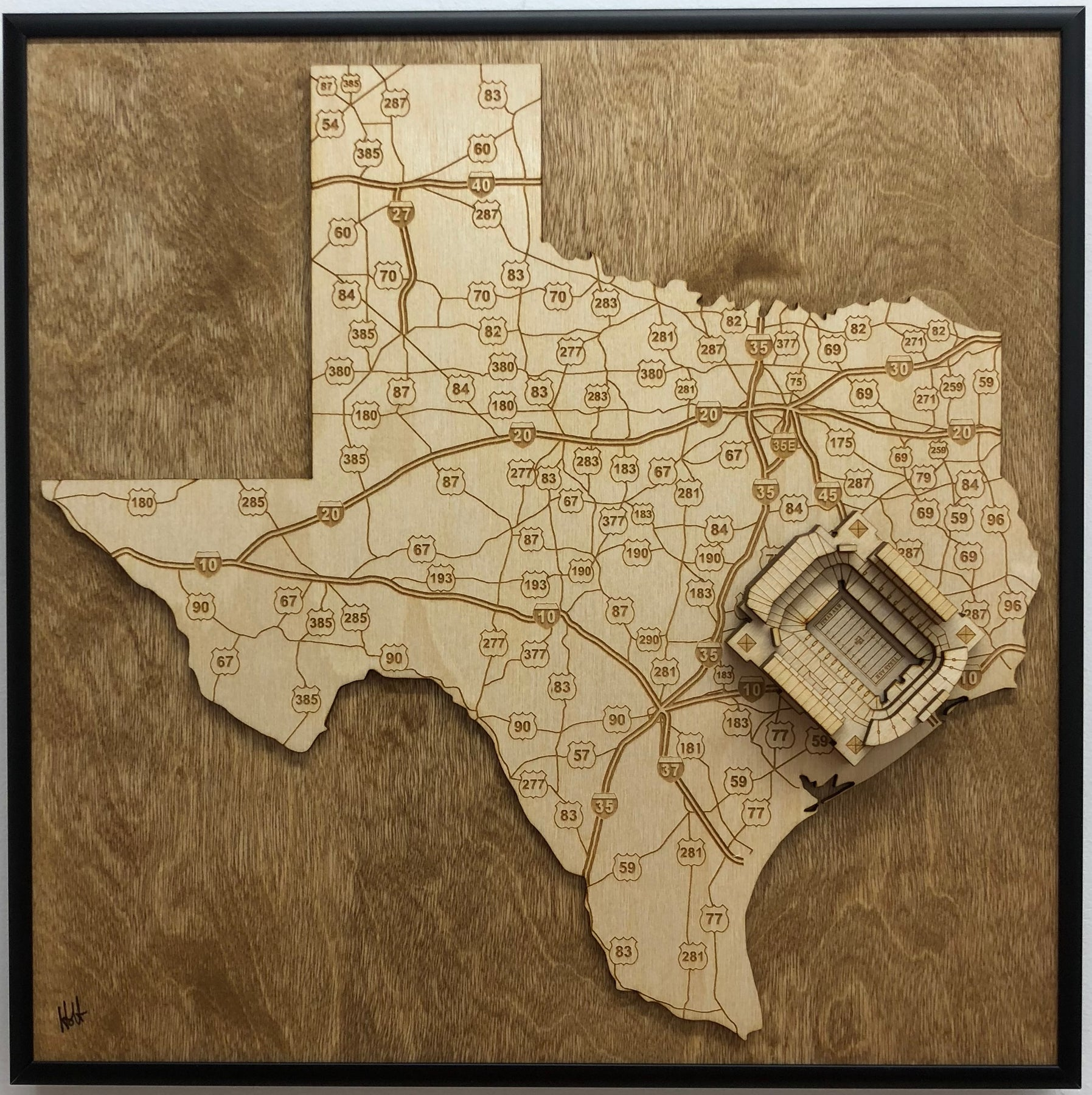 Map Of Texas Kyle.Stadium State Shape Texas College Station Kyle Field