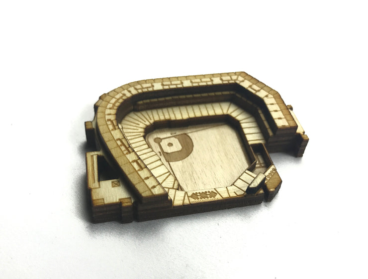 Stadium State Shape - Maryland, Baltimore (Oriole Park at Camden Yards)