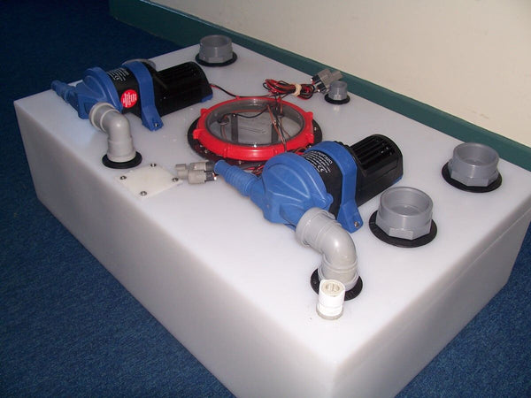 Whale Shower & Sink Waste System 100 litre