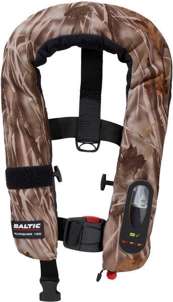 Baltic Flyfisher Camo 150N  Lifejacket