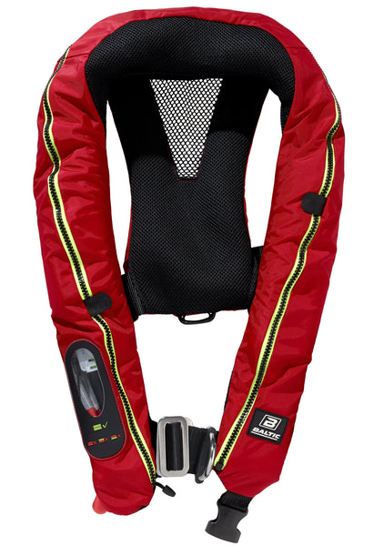 Baltic Legend Auto with Harness Lifejacket Red 150N