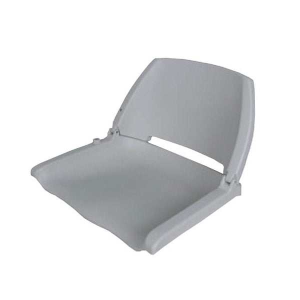 Waveline Moulded Folding Down Seat Grey