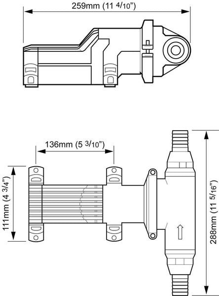 Whale Grouper Fishbox Discharge Pump Mark 1