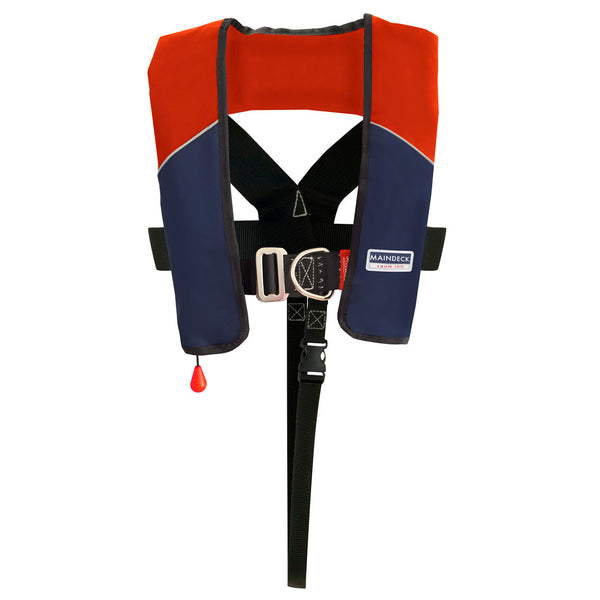 Maindeck ISO 180N Lifejacket with Harness UML Auto Red /Navy