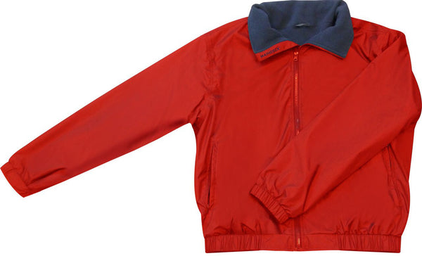 Maindeck Crew Jacket Red/Navy All Sizes