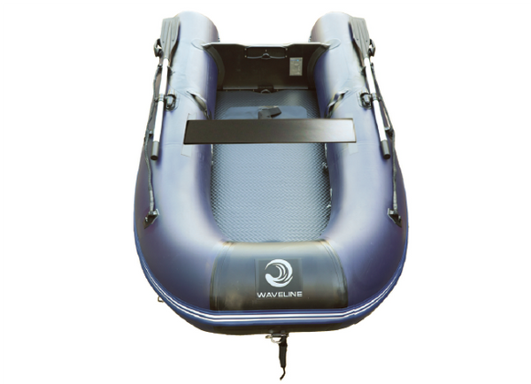 Waveline SU Air-Deck Inflatable Dinghy 2.7M - Lightweight- Navy - In Stock