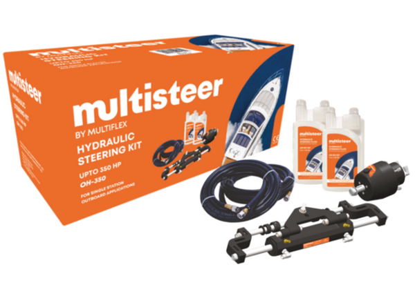 Multiflex Multisteer Hydraulic Outboard Steering Kits - 3 Models - 115/175/350 HP