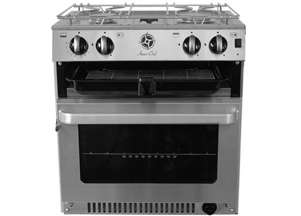 Aqua Chef V4520 2 Burner Hob, Grill & Oven - New - Made in UK