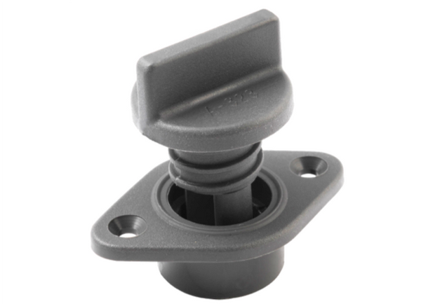 Allen Drain Sockets with Captive Screw - Grey or White