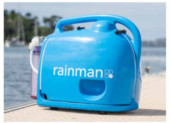 Rainman Water Maker Systems Petrol, Electric 230V or 12V - Freshwater in 2 Minutes - New 2020 Models - With Fitted Water Flow Gauge