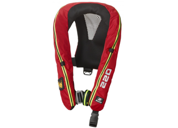Baltic Legend 220 Hammar Lifejacket - 40-120 kg - Black or Red