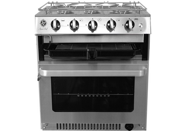 Aqua Chef V5030 3 Burner Hob, Grill & Oven - New - UK Built