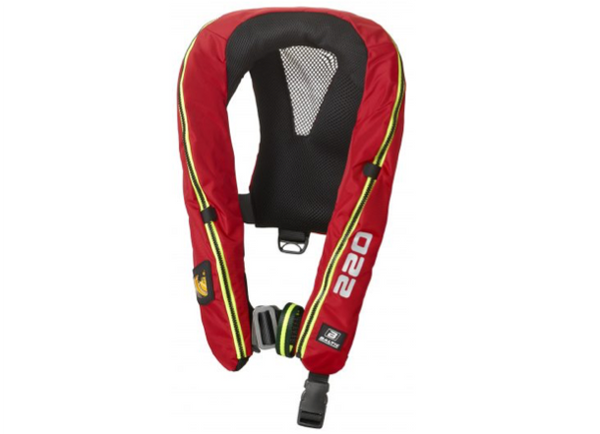 Baltic Legend 220 Hammar Lifejacket with Harness/Sprayhood & Light  - 40-120 kg