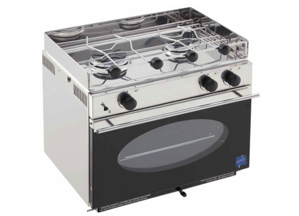 Eno One 2 Burner Hob & Oven - With Pan Clamps & Gimbals